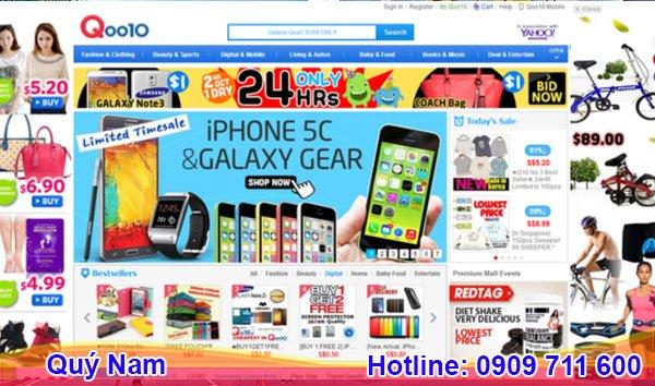 Đây là trang web mua sắm trực tuyến nổi tiếng nhất tại Singapore