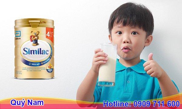 Sữa Similac rất cần thiết cho giai đoạn tiến triển của bé