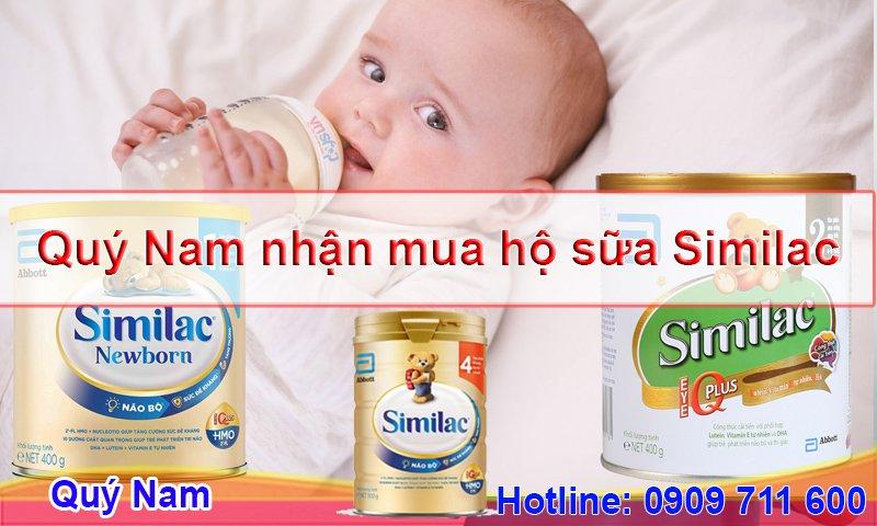 Mua sữa Similac chính hãng, giá tốt tại Quý Nam