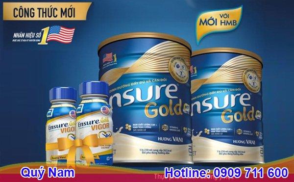 Sữa Ensure Mỹ 850g