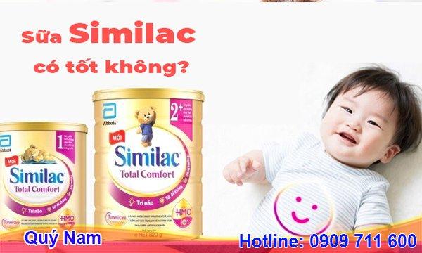 Sữa Similac có tốt không là thắc mắc của nhiều bậc phụ huynh