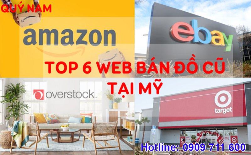 Top 6 web bán đồ cũ ở Mỹ tốt nhất hiện nay
