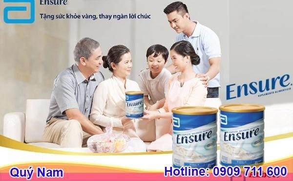 Công dụng sữa Ensure Úc