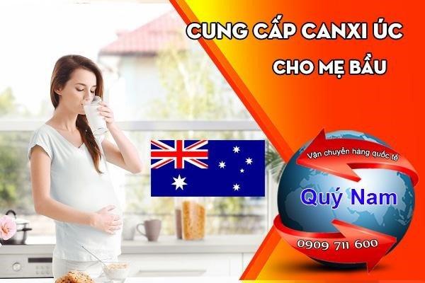 Mua hộ canxi Úc cho bà bầu