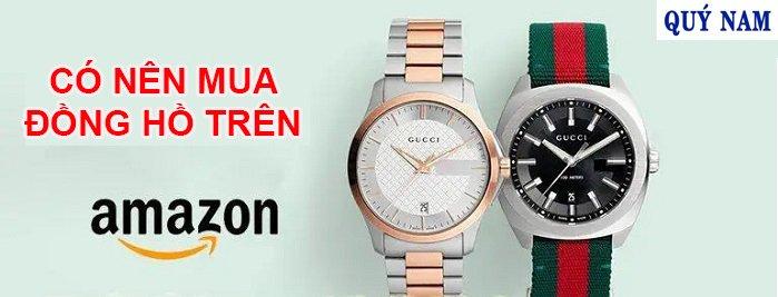 mua đồng hồ trên amazon