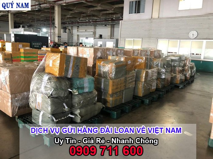 vận chuyển hàng từ đài loan về việt nam