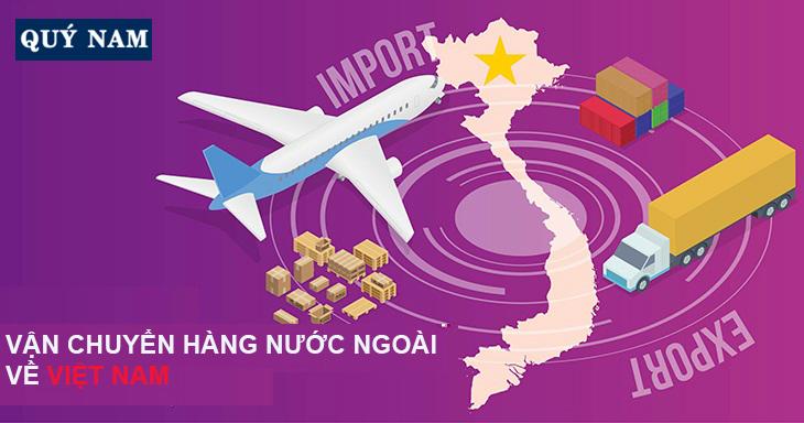 vận chuyển hàng nước ngoài về việt nam